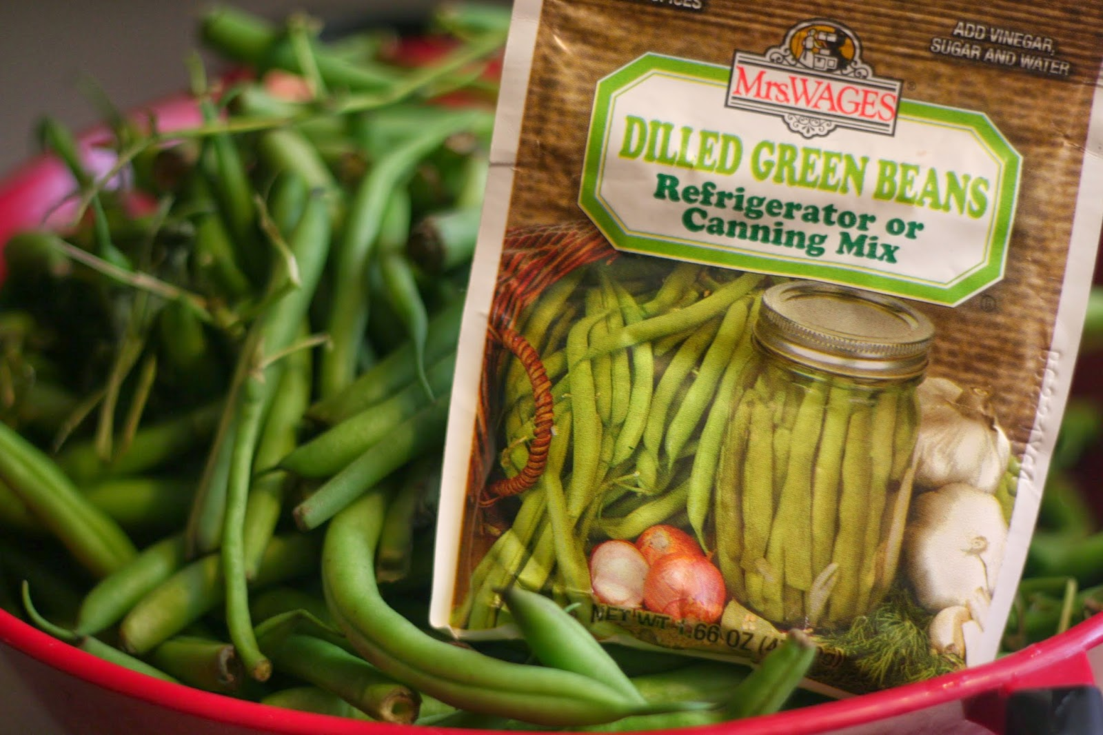 refrigerator dilly (dilled green) beans