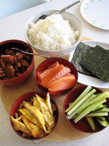 The Greedy Pinglet Kid Friendly Diy Sushi