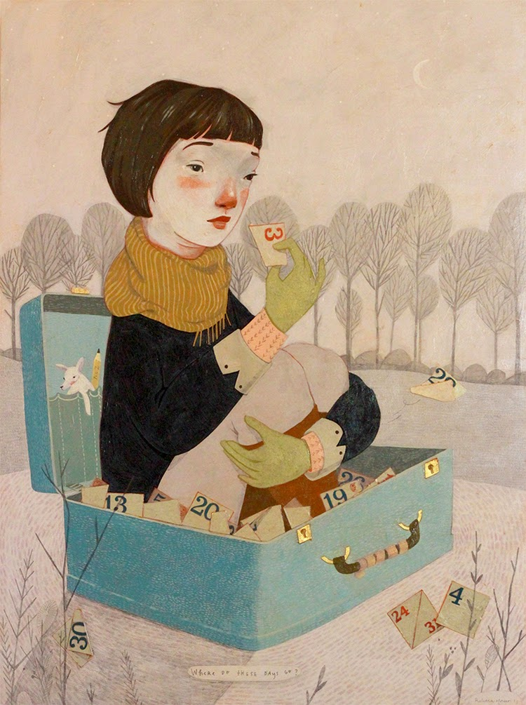 Where do these days go, Rebecca Green illustration