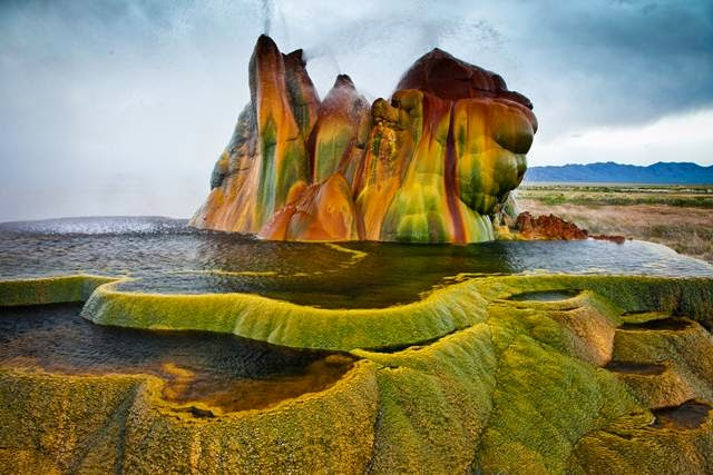 Fly Geyser — A Hidden Gem of Nevada, USA
