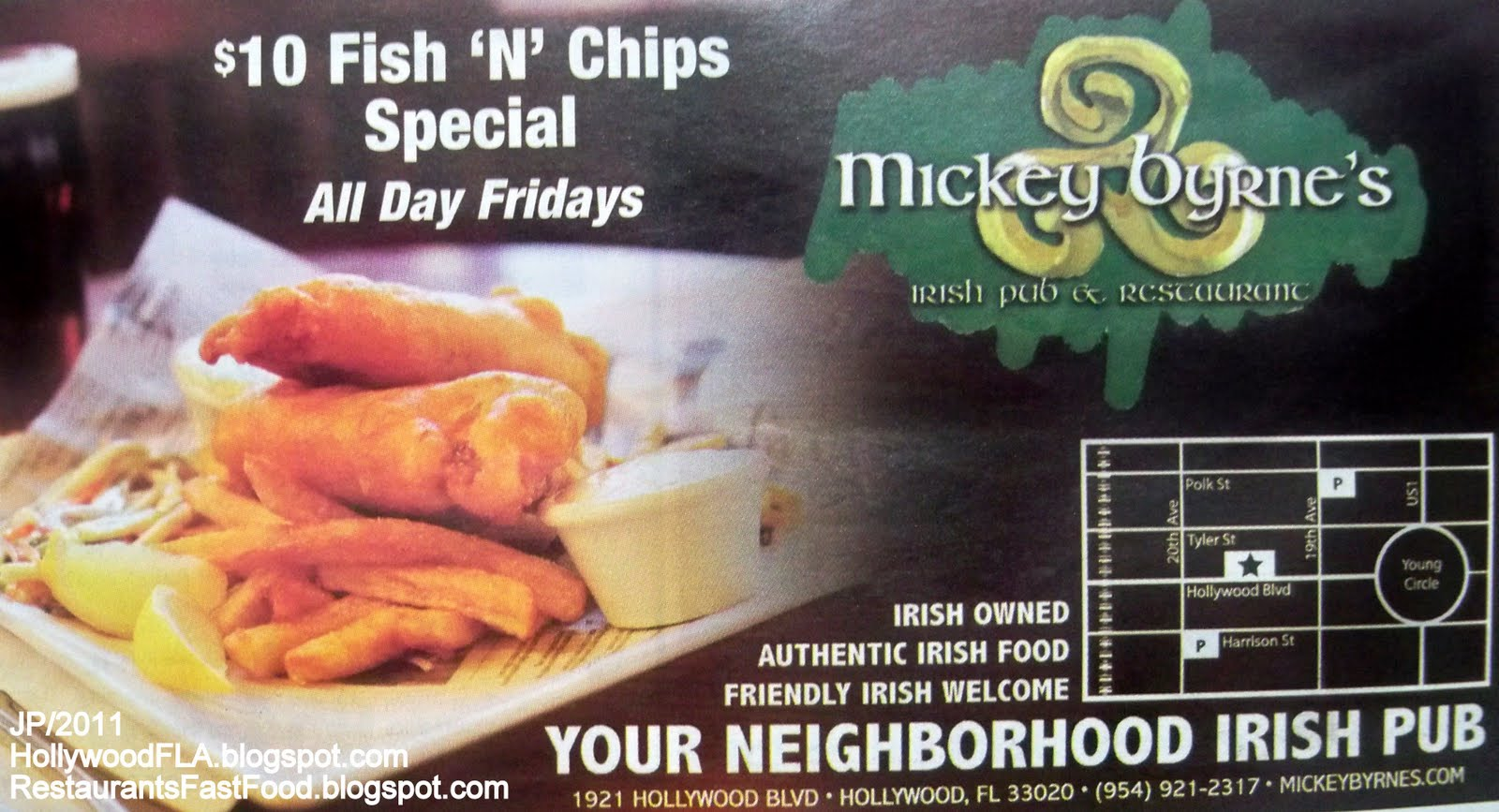 Mickey Byrne S Irish Pub Restaurant