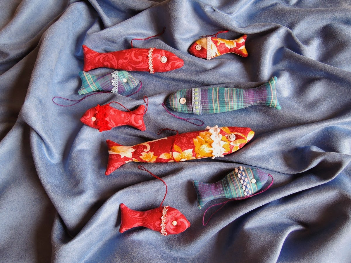 текстильные рыбки