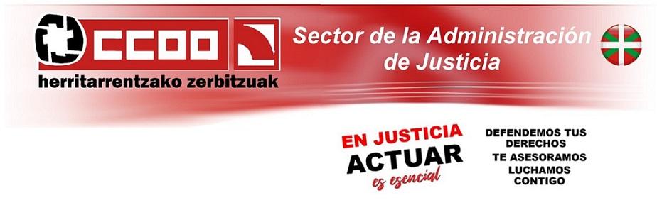 CCOO Justicia - Euskadi