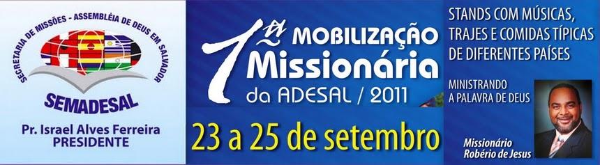 1ª Mobilização Missionária