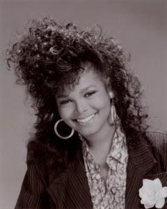 Janet Jackson 80's Hair