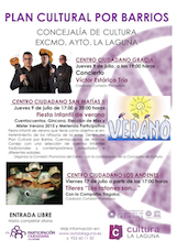 Plan Cultural por Barrios
