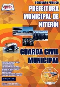 Apostila Concurso Guarda Civil Municipal de Niterói 2014.