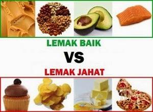 Jenis-jenis lemak dalam makanan