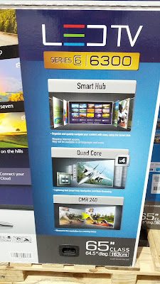 Samsung 65 inch UN65H6300A big screen tv at Costco