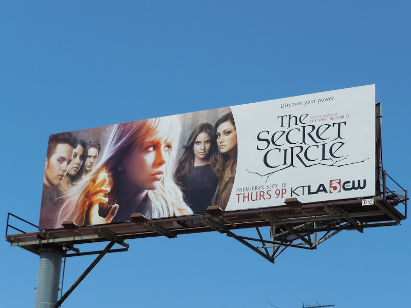 The Secret Circle TV billboard