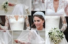 Vestido de novia princesa kate middleton