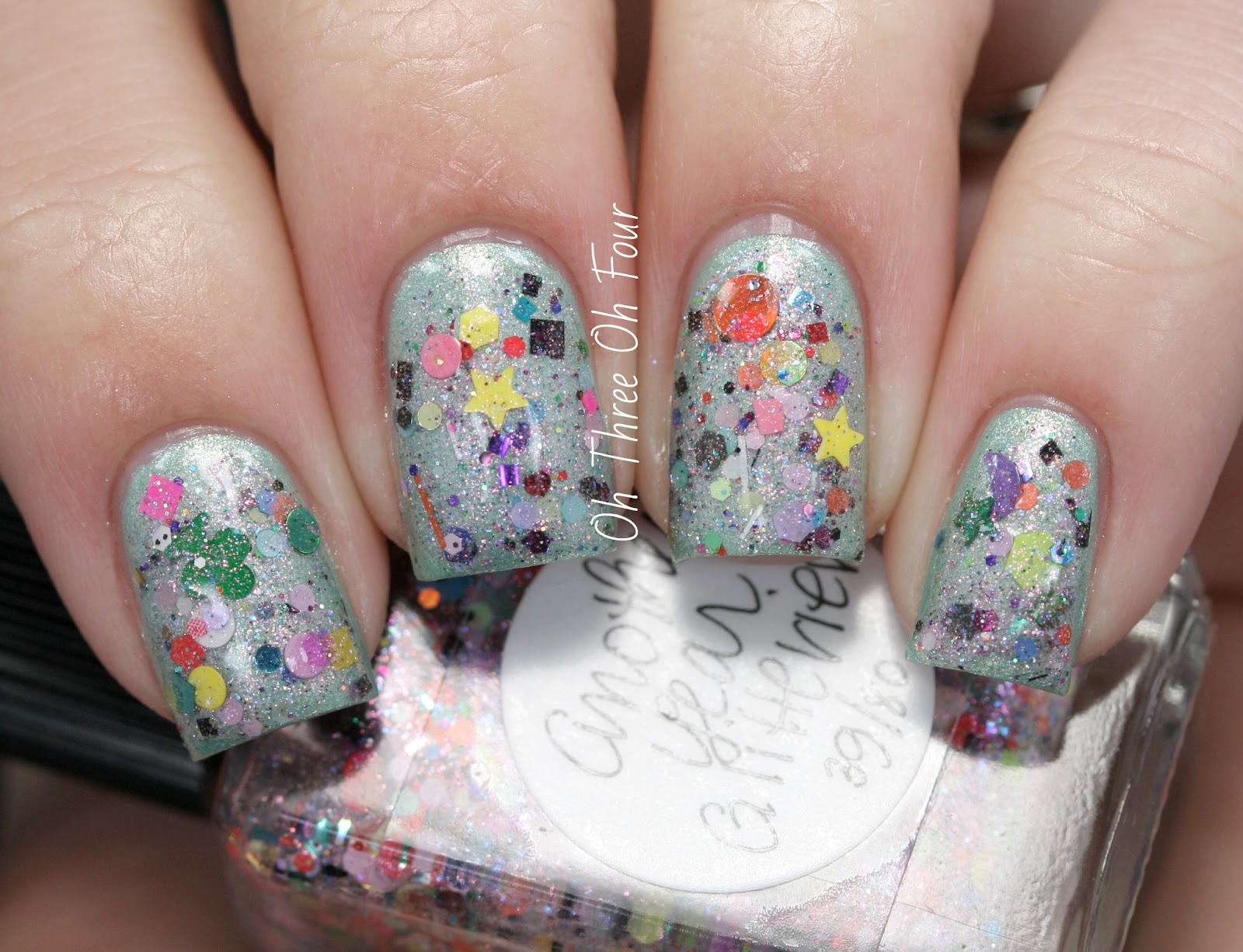 Lynnderella Another Year Glitterier Swatch