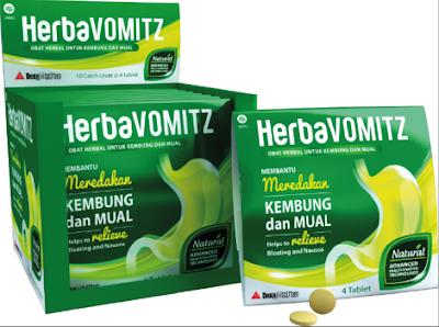HerbaVOMITZ Obat Herbal untuk Kembung dan Mual
