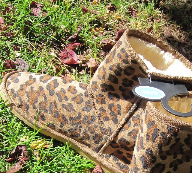 botas ugg primark estampado leopardo
