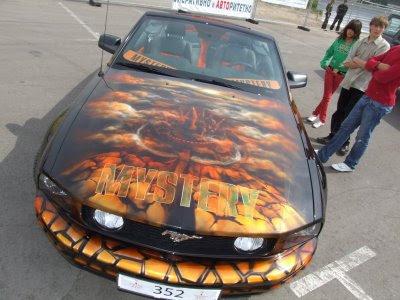 Mustang Auto Airbrush Mystery Theme