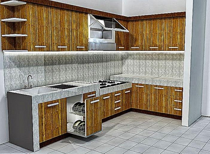 Gambar Dapur Rumah Minimalis Sederhana 2015  Lensarumah