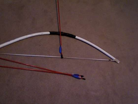 The prepared citizen 39 s wasteland survival guide how to for Bow made out of pvc pipe
