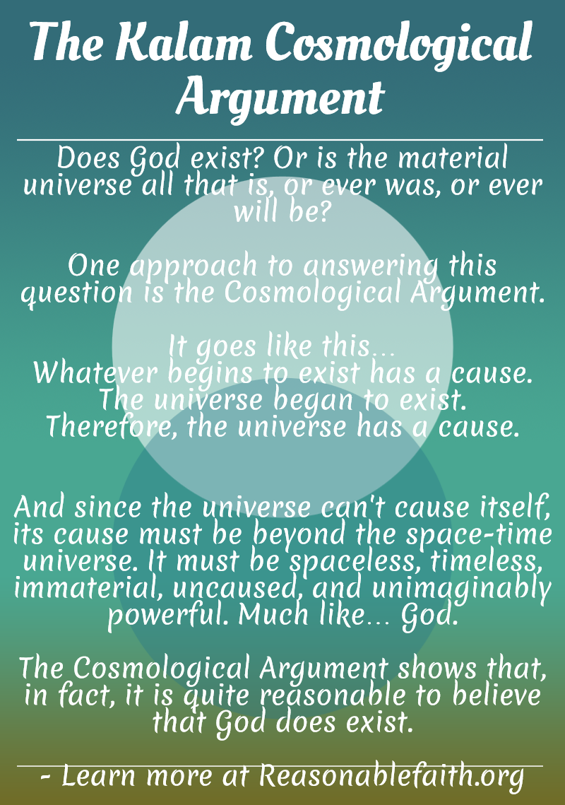an interpretation of arguments on existence of god What are some non-theistic arguments for the existence of god then i immediately refer you to the many-worlds interpretation of quantum physics.