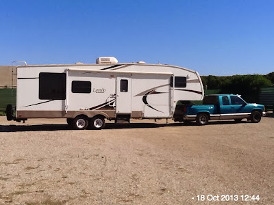 5th wheel American trailer / caravan for sale, Marjal, Costa Blanca, Spain