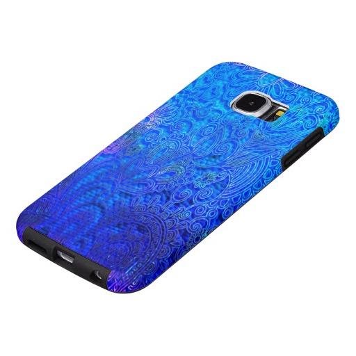Blue Ornaments Samsung Galaxy S6 Cases