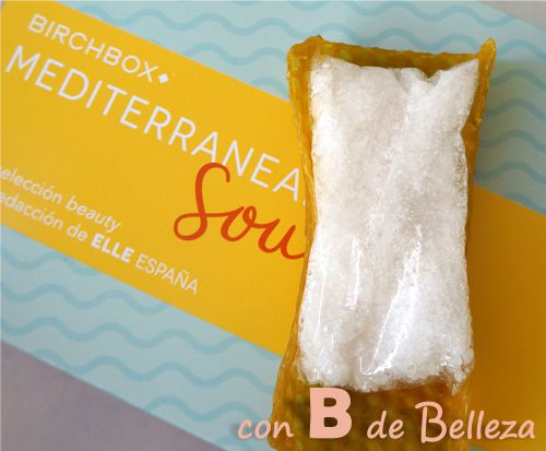 Exfoliante con sales marinas