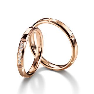 フラージャコー 名古屋 シンプル 結婚指輪 プラチナ チョコレート ゴールド 鍛造
