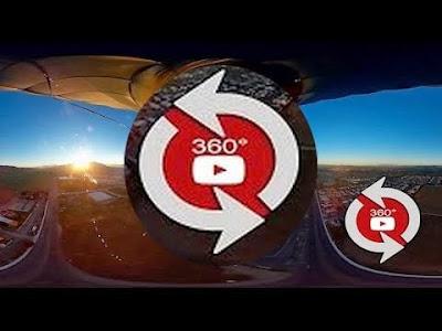 vídeos em 360 graus no youtube