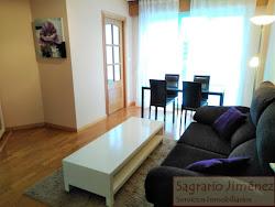 Apartamento en alquiler en Zalaeta, amueblado, garaje. A Coruña