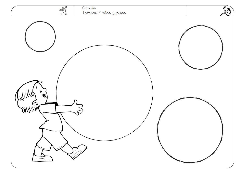 Dibujo De Circulo Para Colorear. Crculos Y Lneas Dibujo Para ...