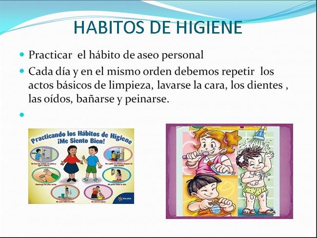 Habitos de higiene for Objetos para banarse