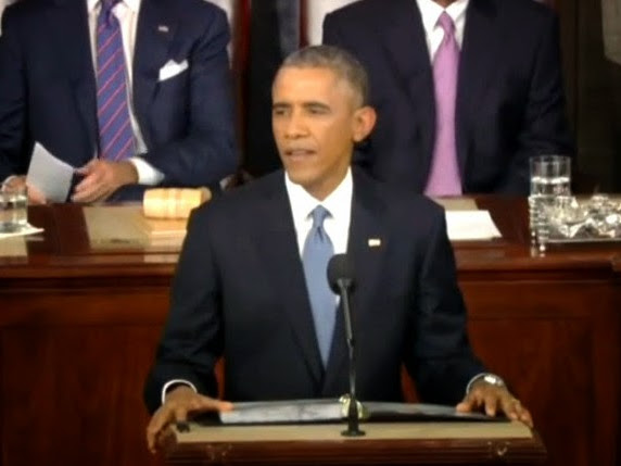 2015 SOTU Address-FULL-THROTTLE OBAMA-Text And Video