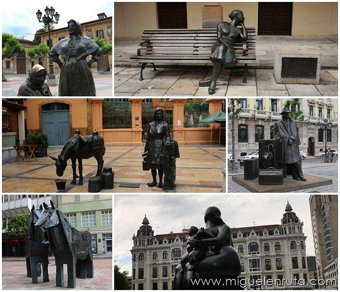 Esculturas-Oviedo-Asturias