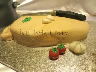 ma è una torta?! o  una padella piena di spaghetti?! per i 60 anni di nicoletta... tutti a bocca aperta ;-)