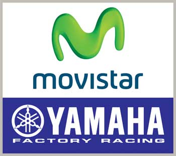 Logo Movistar YAMAHA Factory Racing Team MotoGP 20014