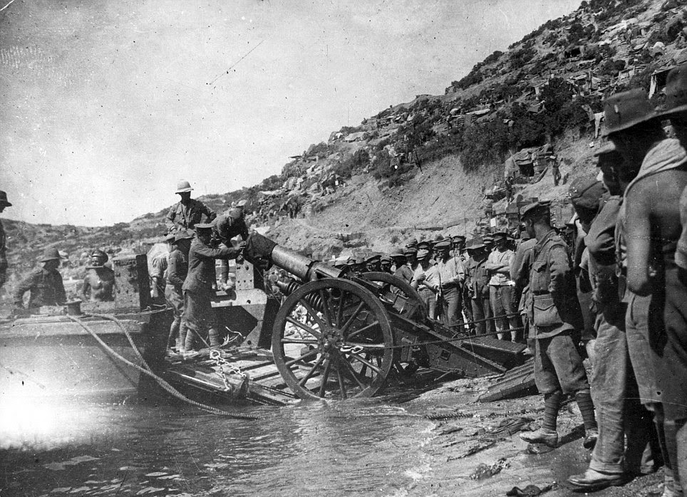 world war 1 gallipoli essay