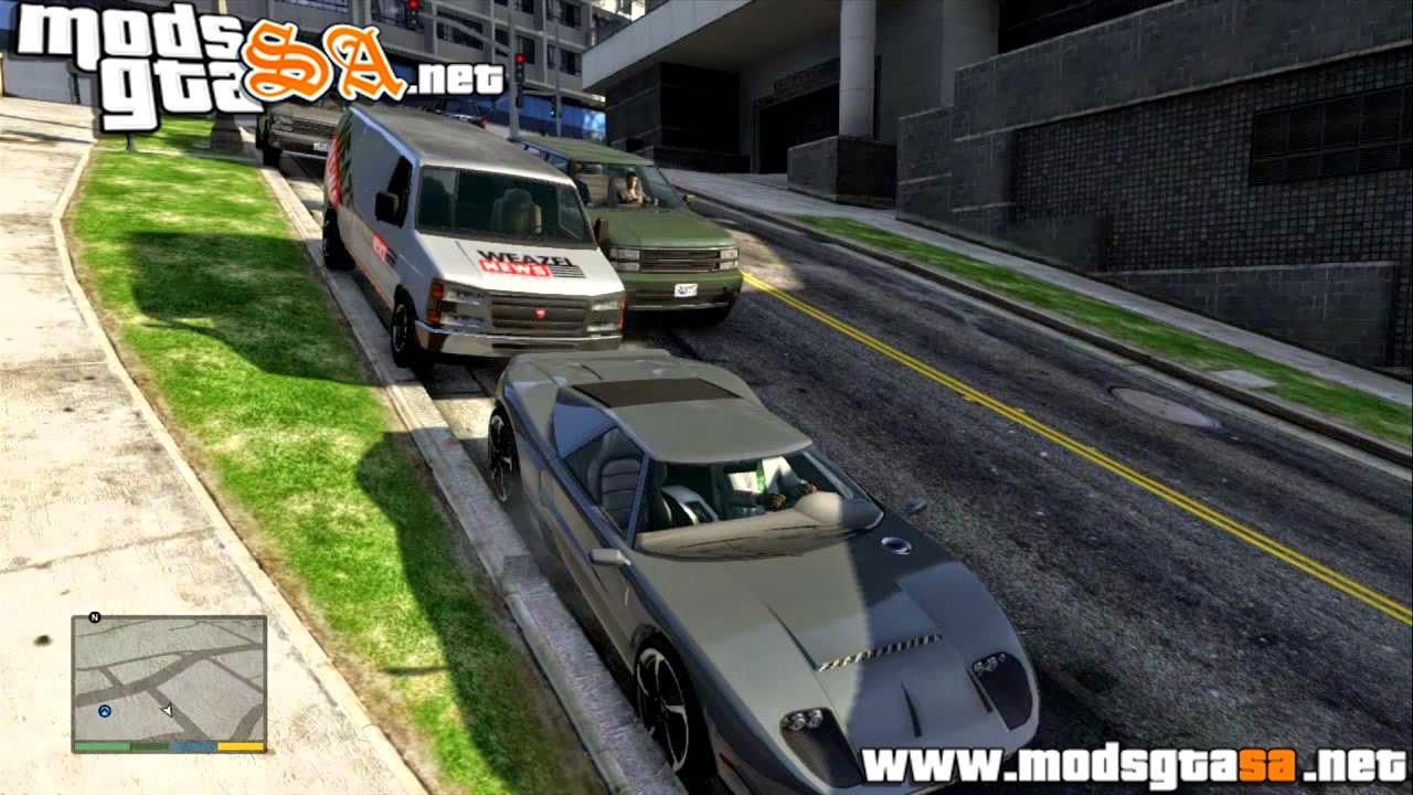 V - Mod Salvar Veículos Sem Eles Sumirem para GTA V PC