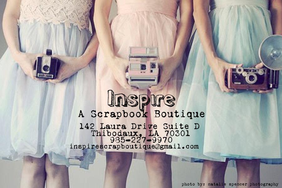 Inspire A Scrapbook Boutique
