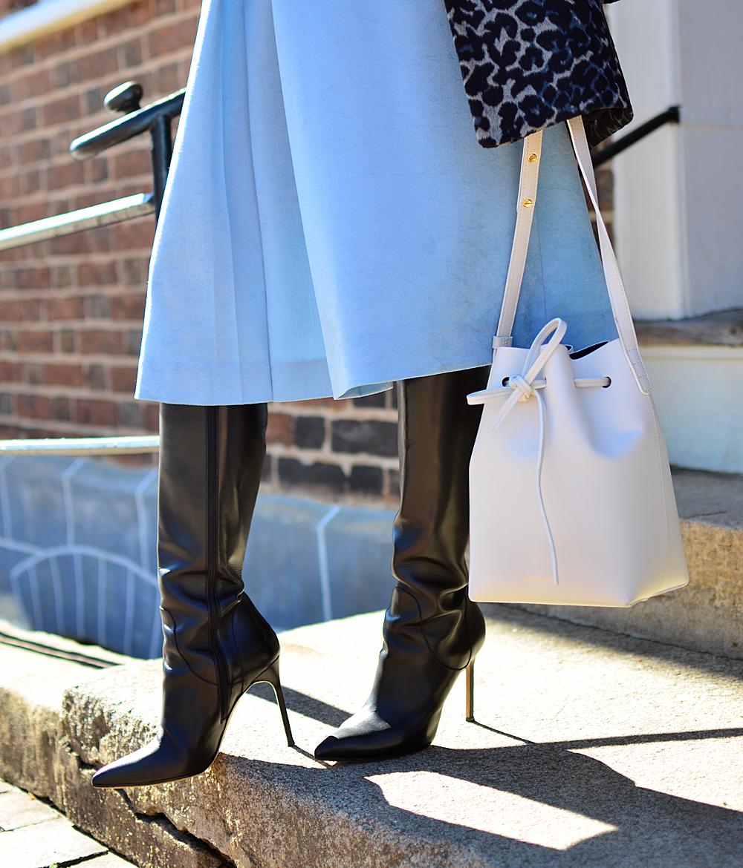 Bucket bag street style