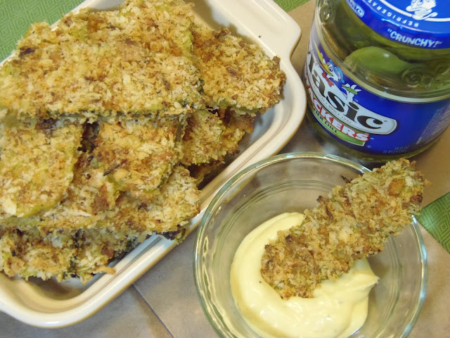 No Fry/Fried Pickles Recipe
