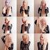 Cara Memakai Jilbab Modern Kreasi Simple Elegan