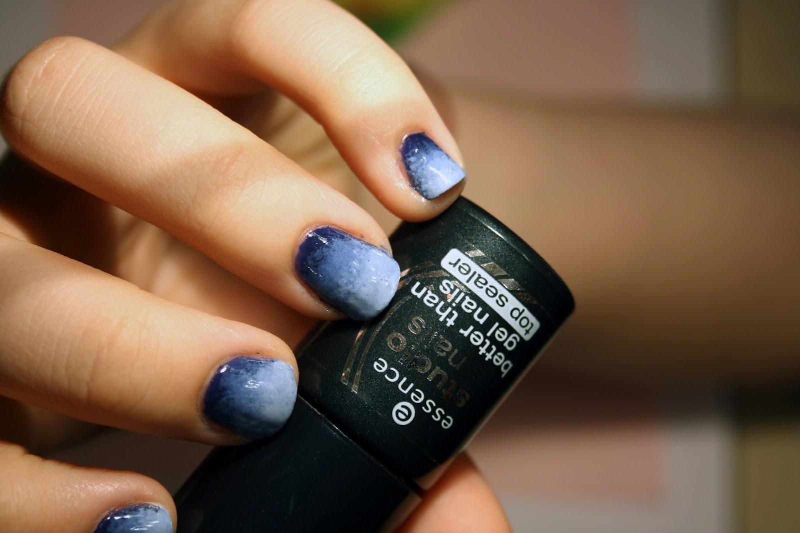 Tutorial: Blue Ombre Nails - duftlos
