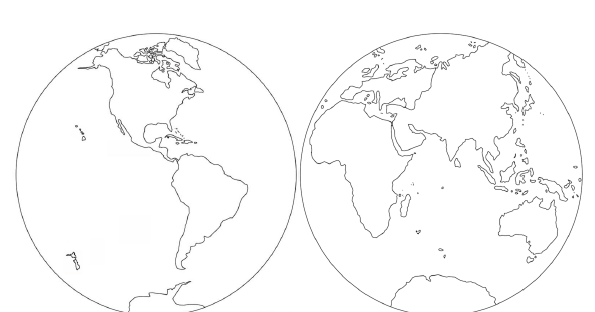 the helpful garden  parts of the world coloring sheet