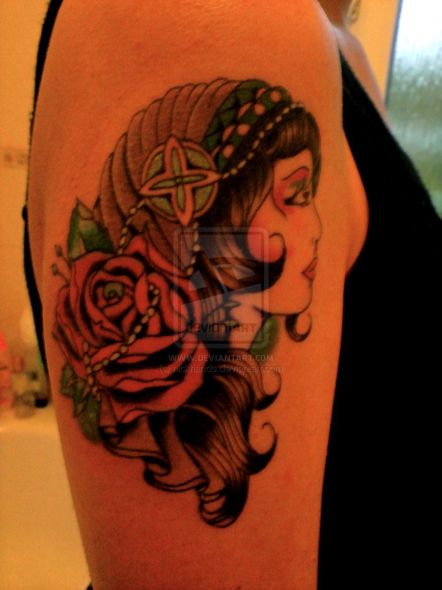 my tattoo designs dead gypsy tattoos