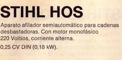 Stihl HOS