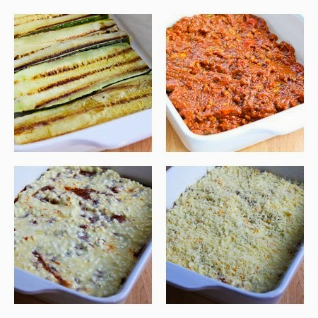 Grilled Zucchini Low-Carb Lasagna with Italian Sausage ...