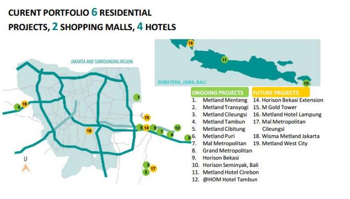Map Lokasi Metland