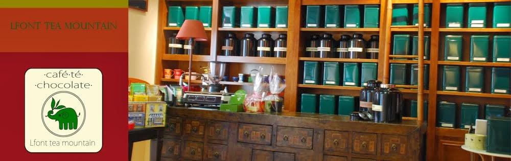 Tienda de té de Lfont Tea Mountain