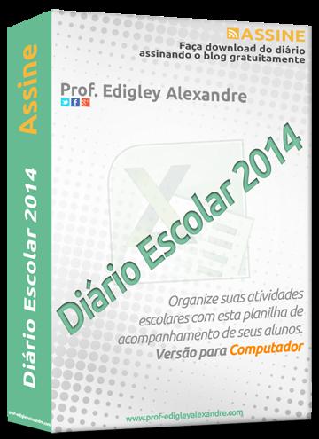 Diário Escolar 2014 - Versão para o computador