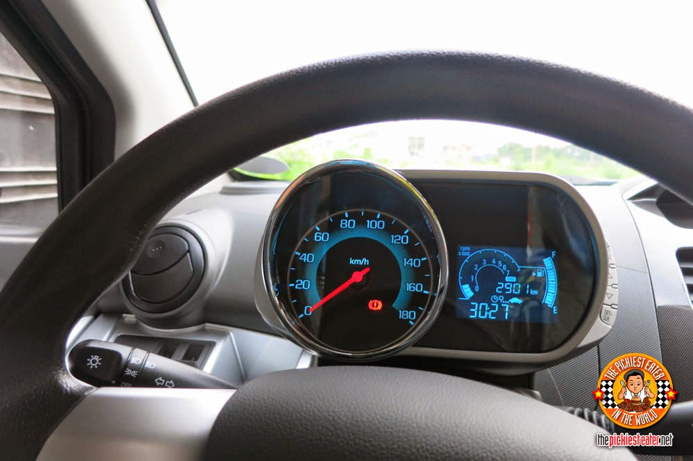 Chevrolet Spark gague