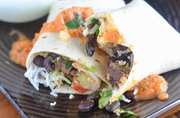 Magic Breakfast Steak Burrito Recipe